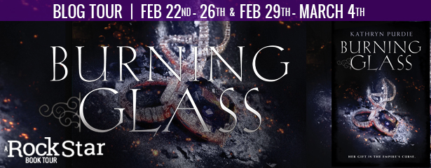 Burning Glass Blog Tour Logo